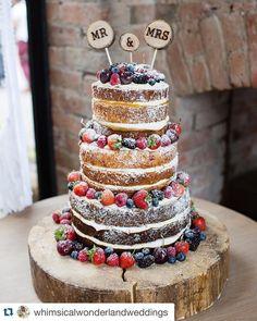#Repost @whimsicalwonderlandweddings with @repostapp. Cake... #wedding #weddings