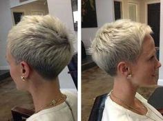 Attractive and Different Short Pixie Cuts