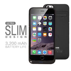 "3200 mAh iPhone 6 4.7"" Battery Charger Case Juice Pack"