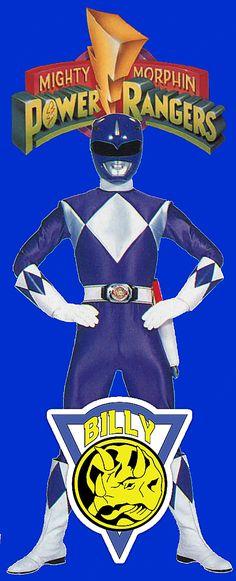 Mighty Morphin Power Ranger: Blue Ranger Billy