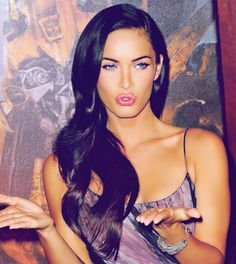 Megan Fox- Hair Inspiration... That's what mine used to look like... why did I cut it??