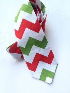 SALE Little and Big Guy NECKTIE Tie  Christmas by petitepeanut