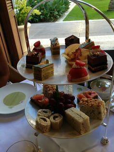 Afternoon Tea at the Halekulani