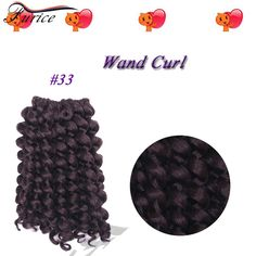 Aliexpress.com : Buy Ombre Synthetic Hair 20root 8in Synthetic Braiding Hair Bulk Crochet Braids Hair Wand Curl Curly Braiding Crochet Hair Extension from Reliable hair tips curly hair suppliers on furice hair Store