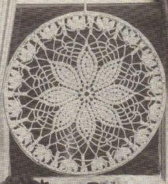 Free Crochet Daisy Suncatcher