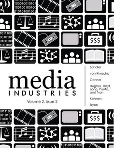 Media Industries is a peer-reviewed, multi-media, open-access online journal that supports critical studies of media industries and institutions worldwide. We invite contributions that range across the full spectrum of media industries, including film, television, internet, radio, music, publishing, gaming, advertising, and mobile communications.