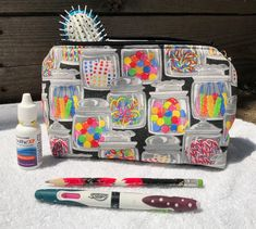 Brand new items in our Etsy store! Candy Store, Jelly Beans, Animal Shelter, Arkansas, Candy Cane, Makeup Cosmetics, Cosmetic Bag, Etsy Store, Dog Cat