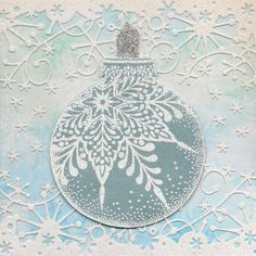 Christmas Bauble - 1st upload! by Viennetta - Cards and Paper Crafts at Splitcoaststampers