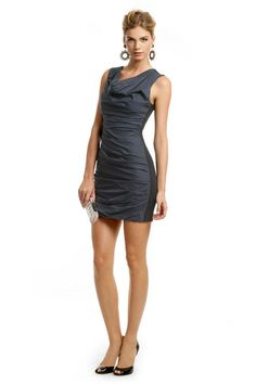 Vera Wang Bicolor Sheath