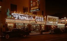 Frontier Club in the late 1940's.