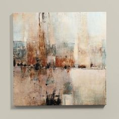 Artifact Embellished Stretched Canvas