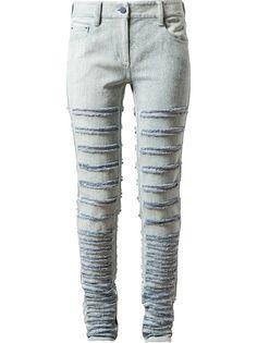 3.1 PHILLIP LIM Calça Jeans Azul Claro.