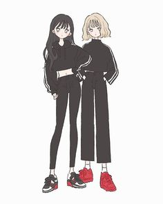 Fashion drawing illustration anime girls 17 new ideas Anime Girl Dress, Anime Art Girl, Anime Girls, Pretty Art, Cute Art, Character Art, Character Design, Kawaii Doodles, Drawing Clothes