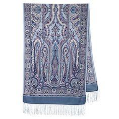 Woolen Scarves, Neck Scarves, Wool Yarn, Merino Wool, Pride And Glory, Paisley, Dress Hats, Mulberry Silk, Beautiful Patterns