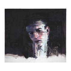 Head of Man, 2016 Oil on Canvas (70 x 80 cm)  OPERA GALLERY PARIS