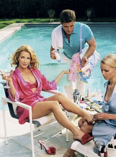 Desperate Housewives - Felicity Huffman and Doug Savant by Mark Seliger.