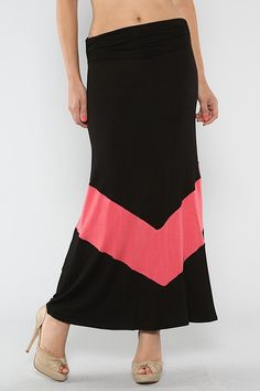 Solid Chevron Skirt #wholesale #clothing #pink #fashion #summer #love #ootd #wiwt #shorts #skirts #dresses #tanks