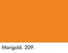 Verfkleur Marigold LITTLE GREENE www.littlegreene.nl   verf   paint   okergoud   ochregold   geel   hal   trap   woonkamer   slaapkamer   interieur idee   styling