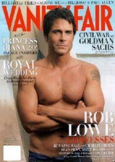 Rob Lowe Vanity Fair Poster 24x36 In