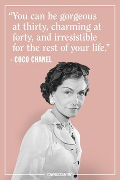 25 coco chanel quotes every woman should live by - best coco chanel sayings Chanel Frases, Coco Chanel Quotes, Life Quotes Love, Great Quotes, Quotes To Live By, Inspirational Quotes, Quirky Quotes, Motivational Quotations, Inspiring Sayings