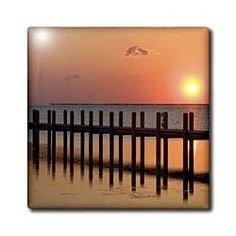 """Abelmarle Sound at Kitty Hawk, North Carolina - US34 DFR0001 - David R. Frazier - 12 Inch Ceramic Tile by 3dRose. $22.99. Construction grade. Floor installation not recommended.. High gloss finish. Dimensions: 12"""" H x 12"""" W x 1/4"""" D. Clean with mild detergent. Image applied to the top surface. Abelmarle Sound at Kitty Hawk, North Carolina - US34 DFR0001 - David R. Frazier Tile is great for a backsplash, countertop or as an accent. This commercial quality constructi..."""