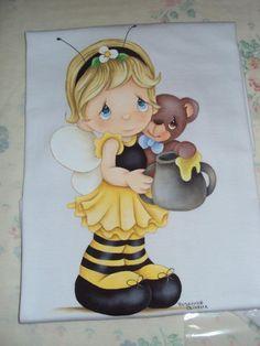 menina abelhinha