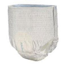 Select 2605 Disposable Absorbent Underwear (Medium) 20/Bag. Breathable outer layerFull-rise waistSpandex leg gathersTear-away side seamsLeakage protection19-ounce capacityTranquility 2605 Select's Disposable Absorbent Underwear offers the convenience of underwear and the absorbency of a disposable brief. The underwear features a breathable outer layer and an ample, full-rise waist panel that allow for a comfortable fit. The spandex leg gathers for comfort and freedom of movement. Tear-away…