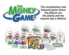 The Money Game - The easiest and most effective financial literacy education program for kids and teens Literacy Games, Literacy Programs, Financial Literacy, Financial Peace, Economics For Kids, Teaching Economics, Management Games, Money Management, Visual Learning
