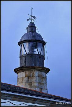 Faro mariñeiro de San Cibrao - Lighthouse Marine St. Cibrao