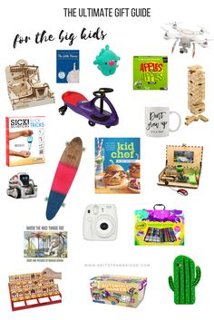 The Ultimate Gift Guide Holiday Gift Guide, Holiday Gifts, Kids Stockings, Stocking Stuffers For Kids, The Ultimate Gift, Amazon Gifts, Mom Blogs, Kids And Parenting, Big Kids