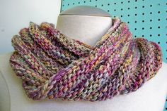 Lär dig att sticka en moebius sjal | Stickskolan