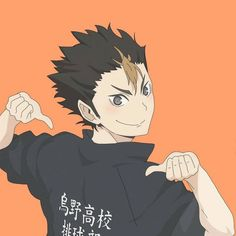 Haikyuu Nishinoya, Haikyuu Meme, Cool Anime Guys, I Love Anime, Haikyuu Characters, Anime Characters, Hinata, Haikyuu Volleyball, Fanart