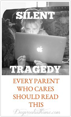 Silent Tragedy: Every Parent Who Cares About The Future Of Their Child Should Read This. #parenting #kids #technology #childhood #entertainment #children #healthyliving #mentalhealth #relationships #health #wellness