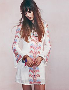 For something like this, maybe use traditional tunics and have them altered to a more Western fit?