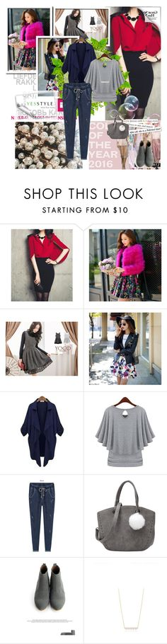 """YesStyle - 10% off coupon"" by lejla-djerzic ❤ liked on Polyvore featuring Fashion Street, Dabuwawa, Eloqueen, PEPER, SWEET MANGO, Miss21 Korea, women's clothing, women, female and woman"