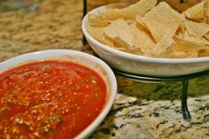 Smoky guajillo peppers add a splash of heat to pump up an easy salsa