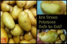 If your potatoes have a green tint, can you go ahead and eat them? Anything special you should do?  How about potato eyes? Everything you need to know