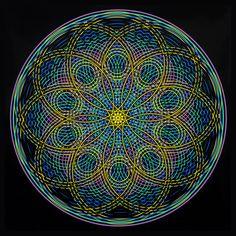 Mind Flowers - Sacred Geometry Mandalas. | Mandala Sacred Geometry
