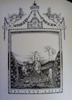Kay Nielsen  Fairy Tales  Hans Andersen  Tipped in by wonderdiva, $1500.00