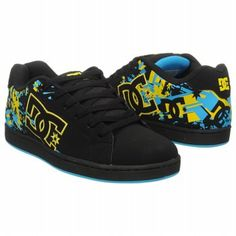 Athletics DC Shoes Men's Character Black/Yellow FamousFootwear.com