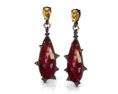 Stunning red earrings from Bohemme! #bohemmejewelry #earrings #red