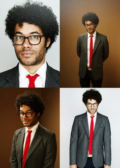richard ayoade. that tie. those glasses. that hair. yesss.