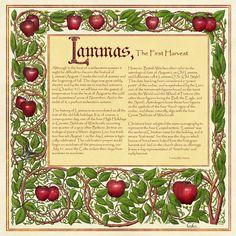 Book Of Shadows, Lammas