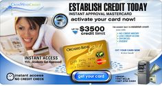 No Credit Check! Get a new Mastercard with up to $3500 Today. This is The Best Credit Card for people No Credit History!