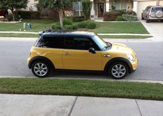 Mini: Cooper S Cooper S Hardtop coupe, leather interior, Yellow Check more at http://auctioncars.online/product/mini-cooper-s-cooper-s-hardtop-coupe-leather-interior-yellow/