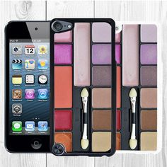 #Eyeshadow #Makeup #Cosmetic Set iPod Touch 5th Generation Case Back Cover Black White Phone Case #women #girl #pretty #cute #elegant #creative #funny #awesome #beautiful #wow #gift #birthdaygift #ipodtouch #ipod5 #ipod5case #ipodcase #ipodcover #ipodtouch5