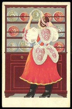 Folk Costume, Costumes, Hungary, Folk Art, Nostalgia, Regional, Illustrations, Folklore, Europe