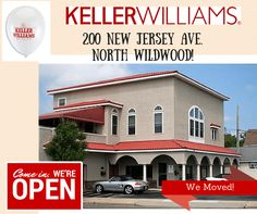 Our North Wildwood Office has Moved! 200 New Jersey Ave. Be sure to stop by!