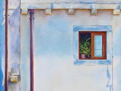 Brittney Tough, Watercolour on Paper, Calm Contemplation #watercolor #watercolour #watercolorartist #watercolourartist #watercolorpainting #watercolourpainting #canadianartist #artist #colour #contemporarywatercolour #contemporaryrealism #interiordesign #interiordecor #design #decor #croatia #dubrovnik