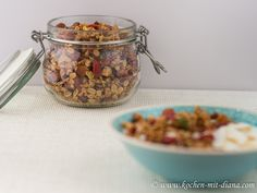 Kochen mit Diana/ Cooking with Diana: Granola